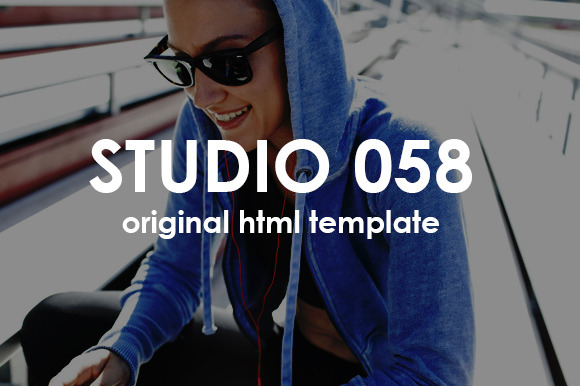 Studio058 One Page Promo Template