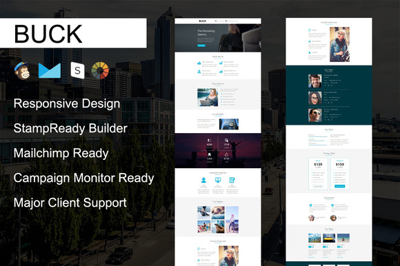 BUCK Responsive Email Template