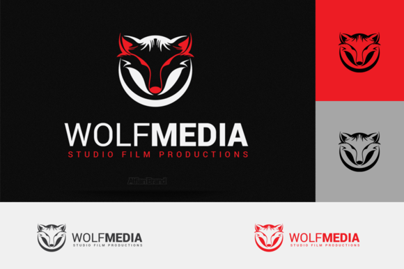 Wolf Media Logo