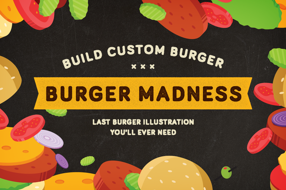 BURGER MADNESS Burger Builder