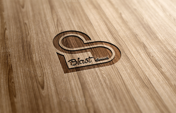 Blast Sound Logo Design