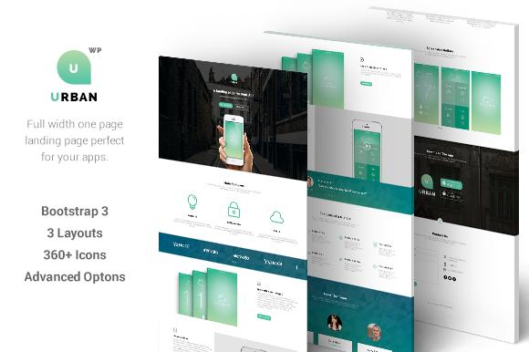 Urban One Page App Landing
