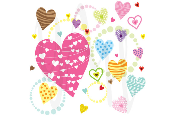 Sweet Hearts Pattern