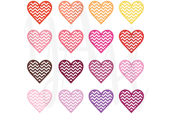 Digital Love Clip Art