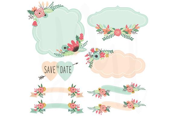 Wedding Flora Frame