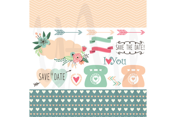 Wedding Invitation Design Elements