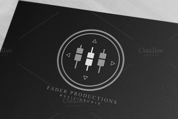 Music Audio Production Logo