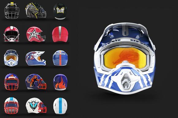 Helmet Mockups