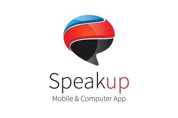 Speak Up Logo Template