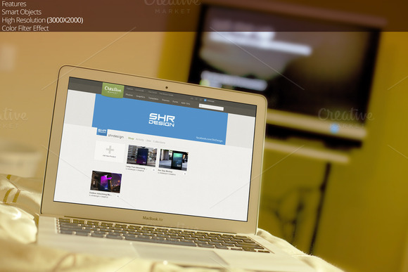 Macbook Air Mockup 1