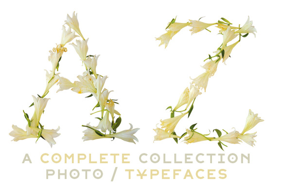NT Lily A Multicolor Photo Typeface