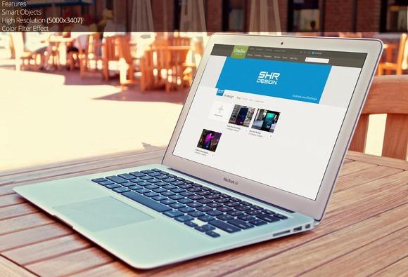 Macbook Air Mockup 3