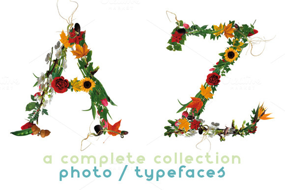 NT Pure A Multicolor Photo Typeface
