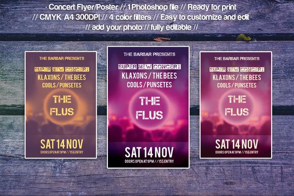 Concert Poster Flyer