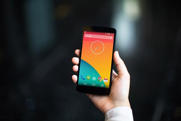 Nexus5 PSD Marble High