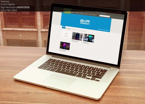 Macbook Air Mockup 6