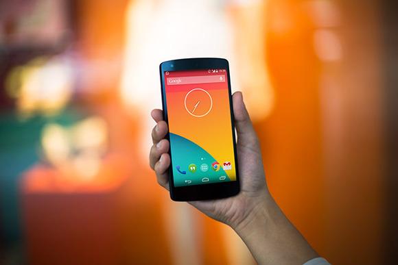 Nexus5 PSD Orangetastic Web