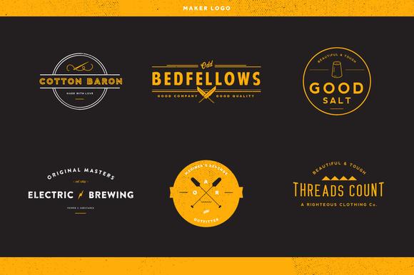 Maker Logos Volume 1