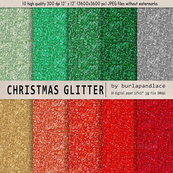 Glitter Christmas Color