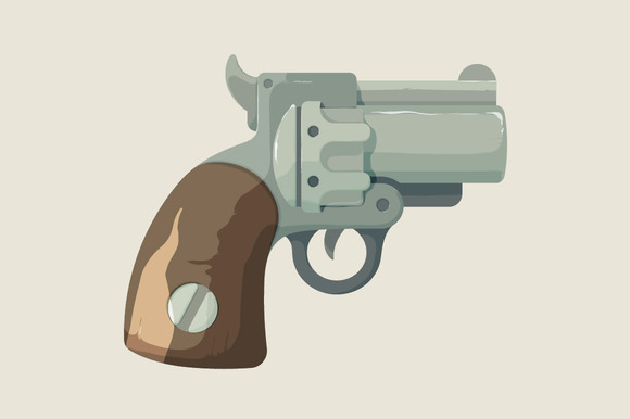 Revolver From Wild West