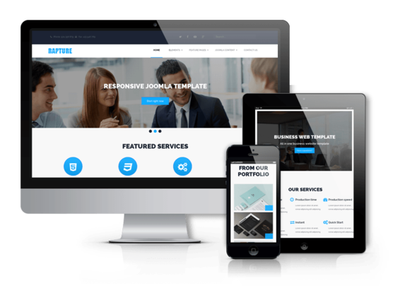 Rapture Joomla Business Template