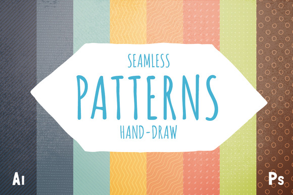 Retro Hand-draw Patterns