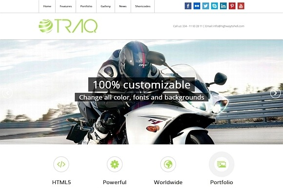 Traq WP Business Portfolio