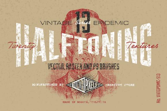 20 Halftoning Textures VES13