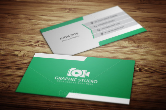 Business Card Logo V.1