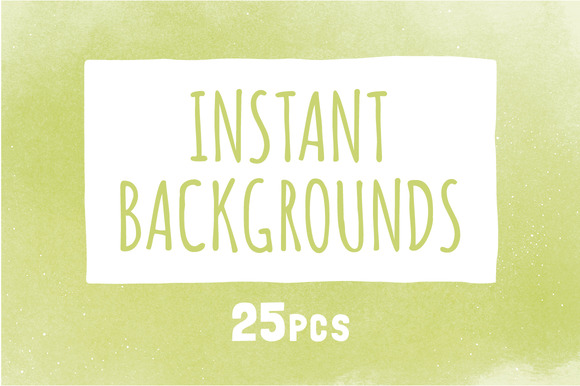 25 Instant Backgrounds