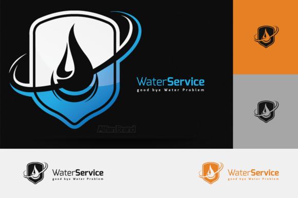 Water Service Logo