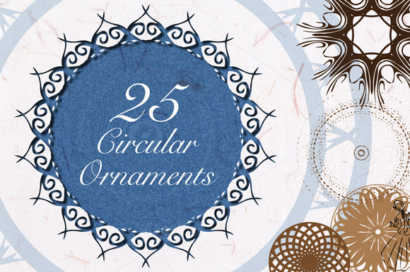 25 Vector Ornaments