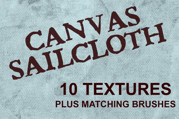 Canvas Sailcloth Textures Brushes
