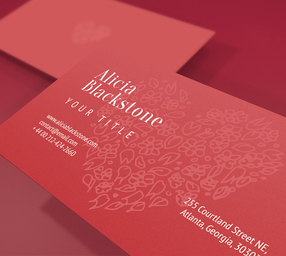Heart Business Card