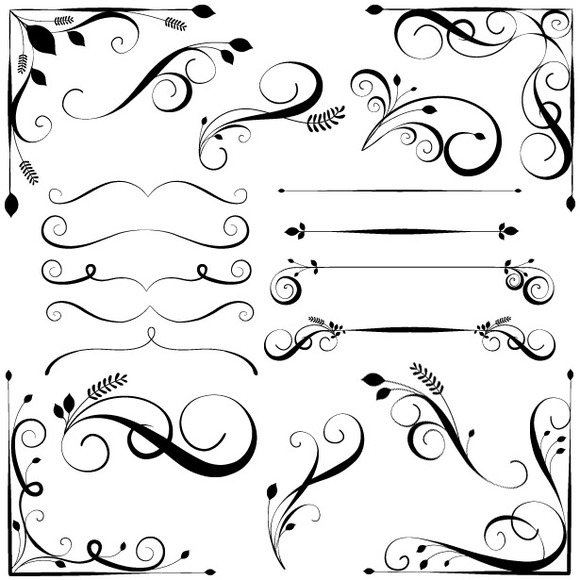 Swirly Flourish Brushes