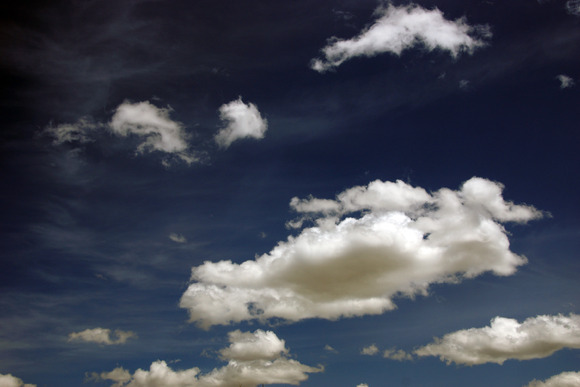 Blue Sky Cloud Image Collection