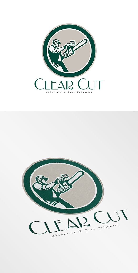 Clear Cut Arborists Logo