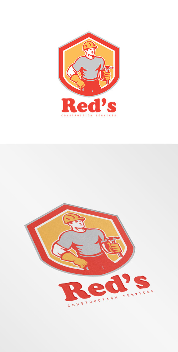 Red S Construction Services Logo