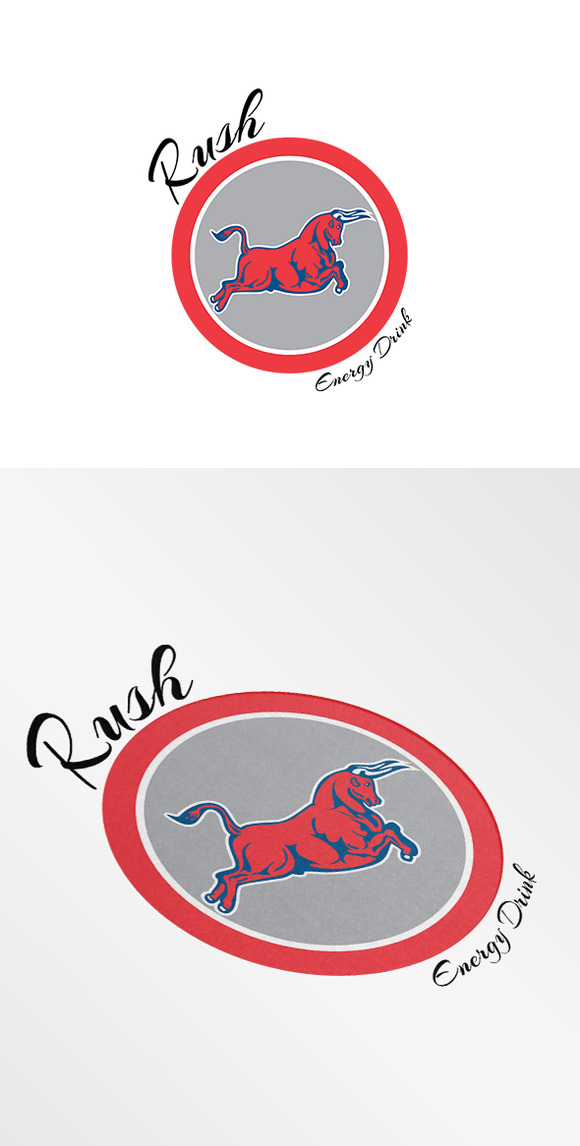 Rush Energy Drink Logo