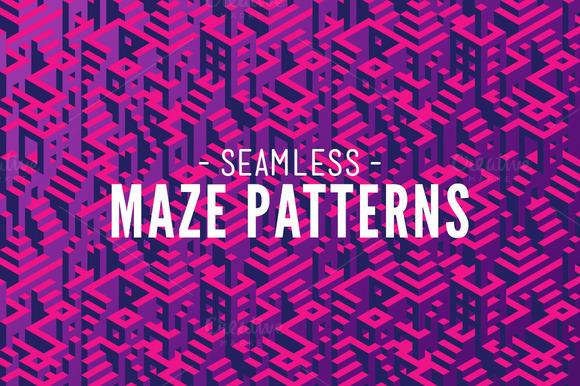 SALE 10 Maze Patterns