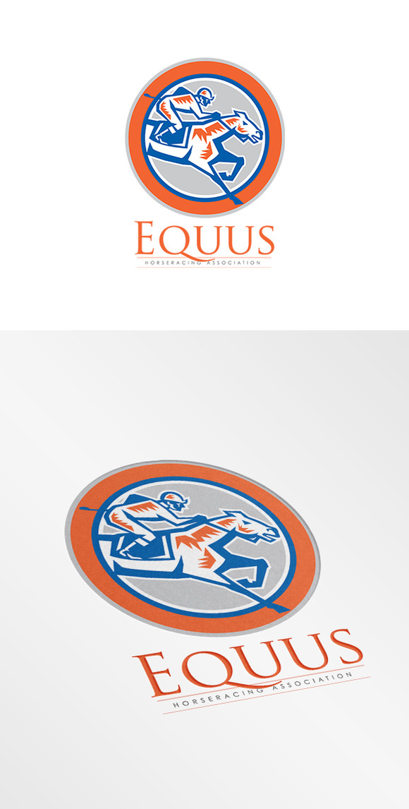 Equus Horse Racing Association Logo
