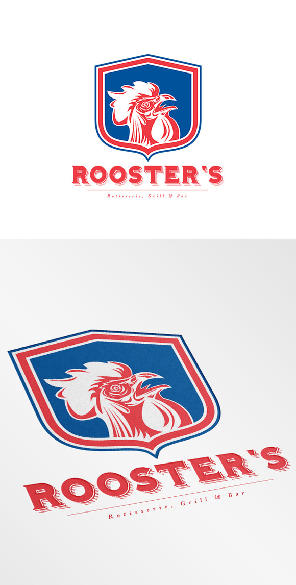 Rooster S Grill And Bar Logo