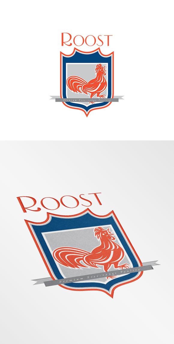 Roost Premium Free-Range Produce Log