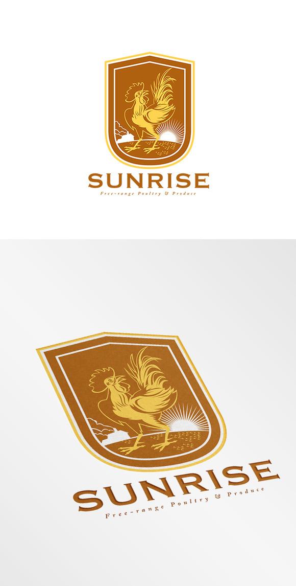 Sunrise Free Range Produce Logo