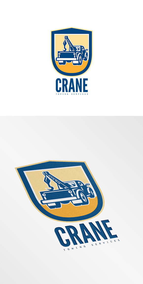 Crane Towing Services Logo