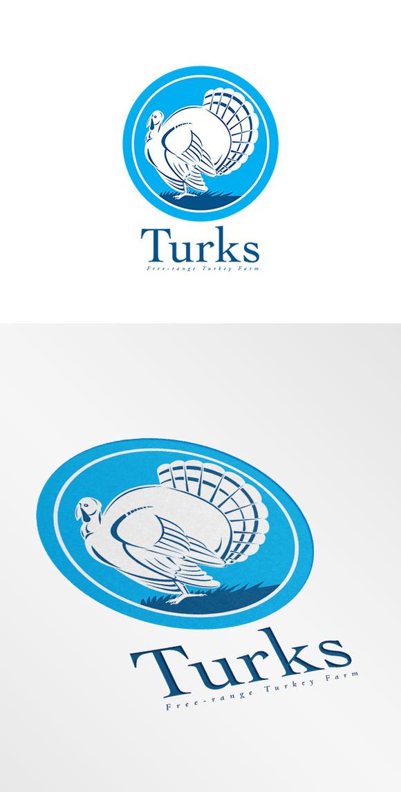 Turks Turkey Free-Range Farms Logo