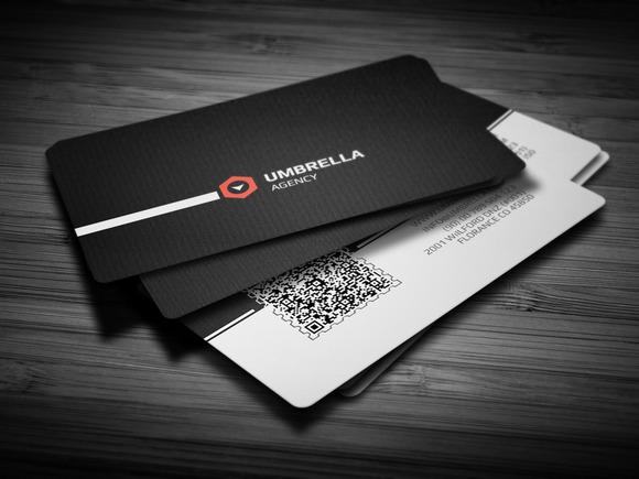 Qr Corporate Business Card