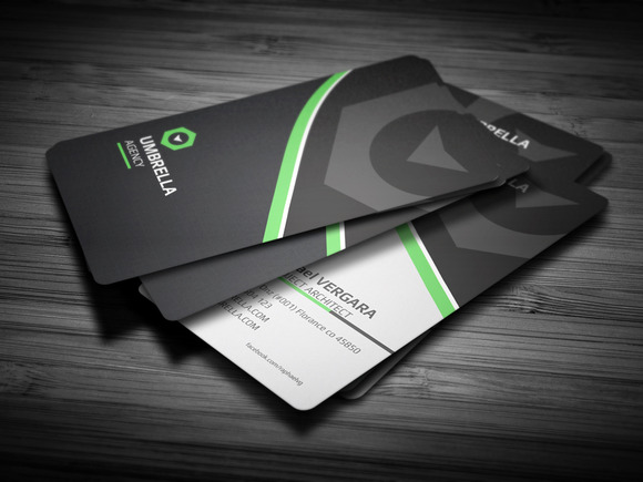 Sleek Corporate Business Card