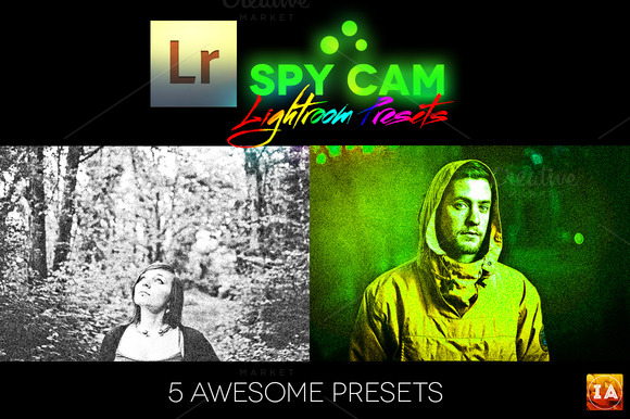 Spy Cam Lightroom Presets