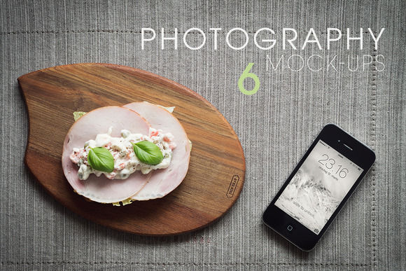 6 Photography Mock-Ups